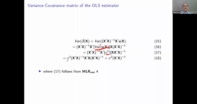 L3 2020 Introduction to Econometrics 20200422 MLR in Matrix Form