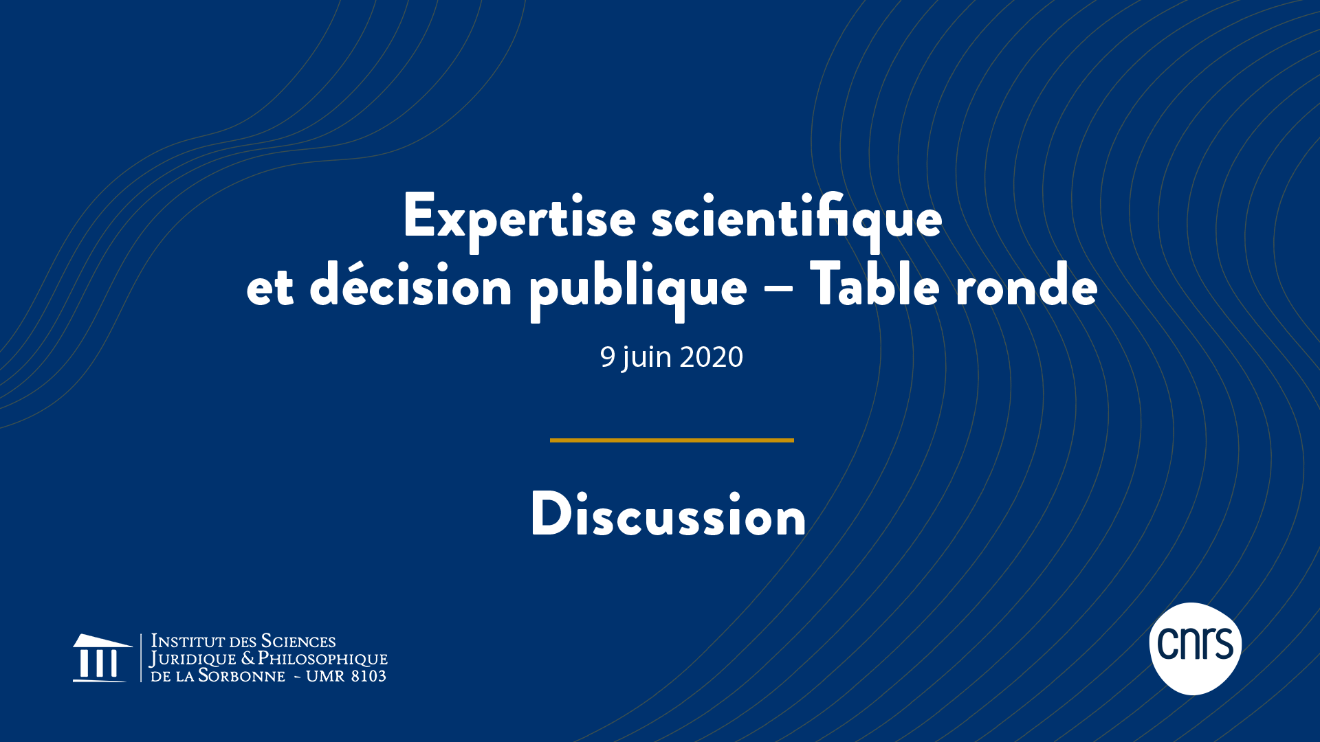 Expertise scientifique et décision publique – Discussion