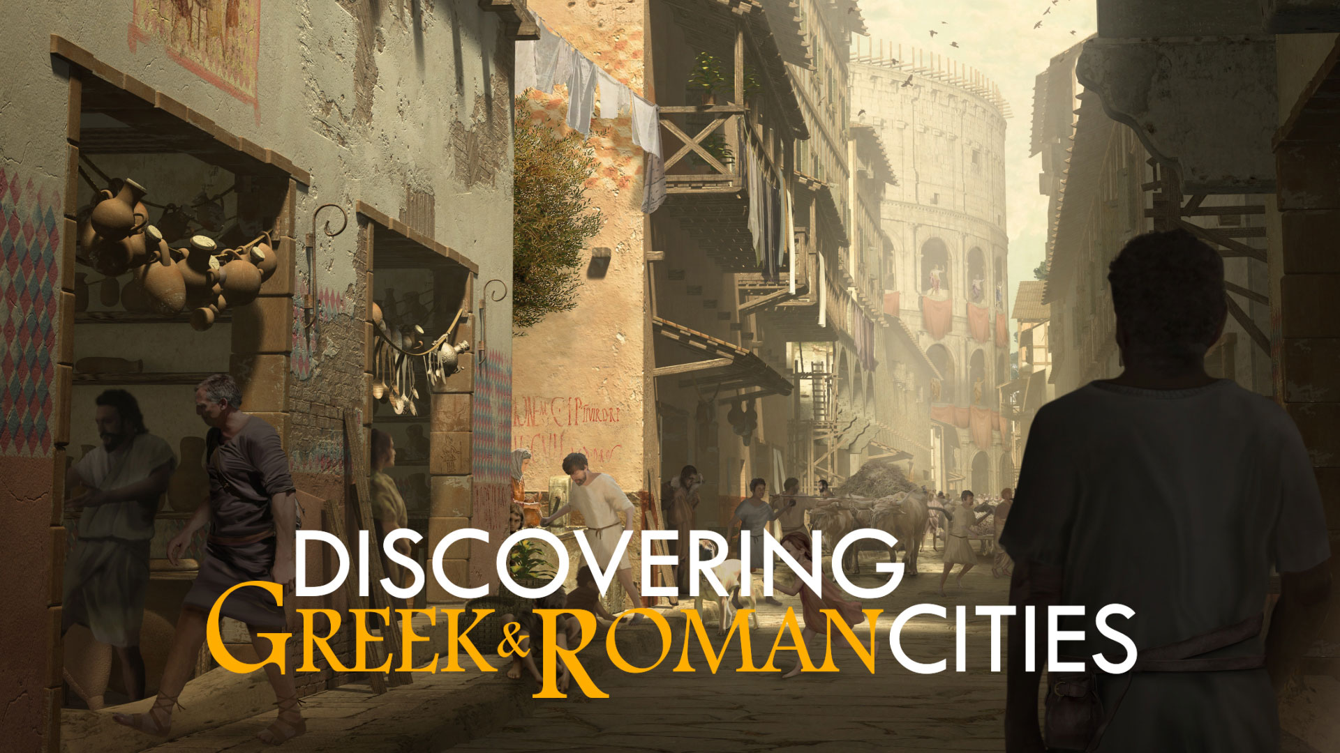 Discovering Greek & Roman Cities - Teaser FR